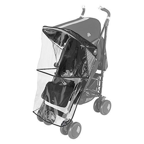 Maclaren Techno XT - Burbuja de lluvia para silla de paseo, color transparente