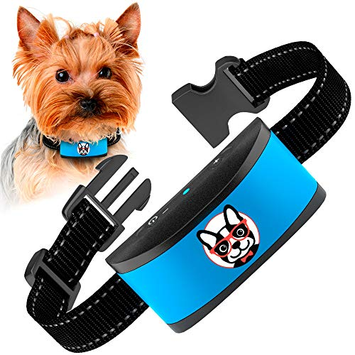 ELECANE Small Dog Bark Collar Rechargeable
