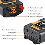 Photo #8: Power Inverter by Ampeak with 750 Watts for Truck Use and Dual 3.1Amp USB with AC Outlets