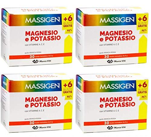 Massief magnesium en Potassio – 4 verpakkingen