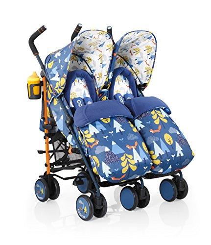 COSATTO Supa Dupa Twin Stroller (Fox Tale)