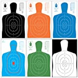 B-27E Variety Pack, 150 Targets, Shooting Targets, Paper Targets