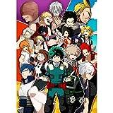 Puzzle - My Hero Academia 300/500/1000/1500 Piezas Boku no Hero Academia For Adultos Regalo De Madera Manga Rompecabezas Juguete Kid WH Puzzle Shop (Color : C, Size : 300PC)