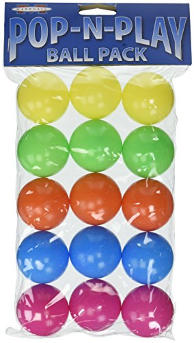 (2 Packages) Marshall Pet Products Pop-N-Play Ball - Each Package Contains 15 Balls