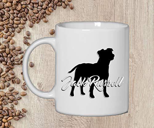 Tierisch werben Tasse - Jack Rusell - Becher Hund
