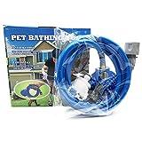 Handbrausen Led Duscharmaturen Haustier Badedusche Werkzeug Komfortable Massagegerät Dusche Werkzeug Reinigung Waschen Badespritzen Hundebürste Haustier, Blau, China