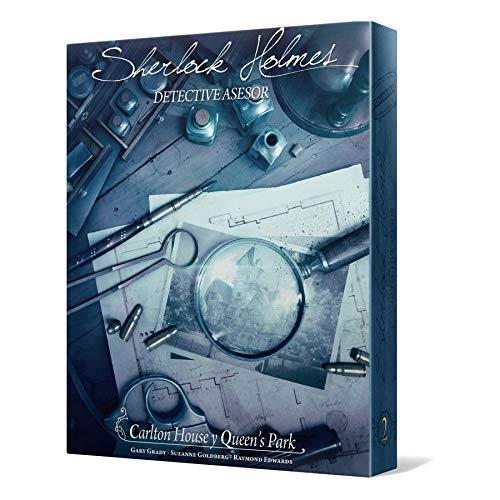 Space Cowboys- Sherlock Holmes: Carlton House & Queen's Park, Color (SCSHCA01ES)