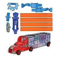 かわいい車のモデルのおもちゃ、トラックのおもちゃセット、3歳以上の男の子と女の子のための教育