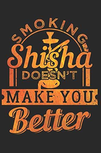 SHISHA NOTIZBUCH: Shisha Notizbuch die Perfekte Geschenkidee für Shisha oder Wasserpfeifen Fans. Das Taschenbuch hat 120 weiße Seiten mit Punktraster ... beim Schreiben oder skizzieren unterstützten.