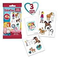CRAZE Tattoos BIBI & Tina Tattoo Foilbag Kindertattoos Klebetattoos Party Mitbringsel Mitgebsel 59143, Kindertattoo