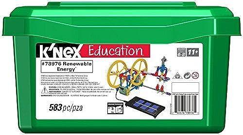 mejor servicio K'NEX K'NEX K'NEX Education - Renewable Energy Set by K'NEX Education  más descuento