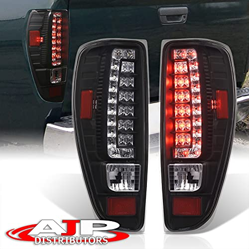 AJP Distributors LED Tail Lights Brake Stop Lamps Upgrade Pair Compatible/Replacement For Chevrolet Chevy Colorado GMC Canyon 2004 2005 2006 2007 2008 2009 2010 2011 2012 04 05 06 07 08 09 10 11 12