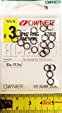 Owner Splitringe - Sprengringe, Größe / Tragkraft / Packungsinhalt:Gr. 3 / 19.2kg / 20 Stück