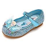 YOSICIL Zapatos de La Princesa de Lentejuelas Zapatos de Tacón Zapatillas de...