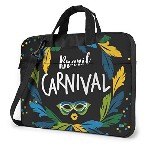 Brazil Carnival Laptop Shoulder Messenger Bag, Notebook Sleeve Carrying Case