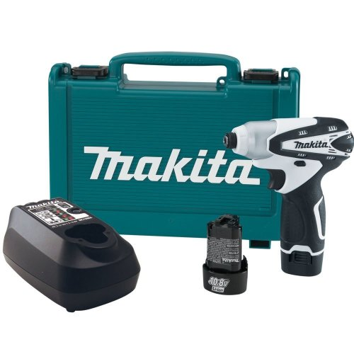 Makita TD090DW 10.8-Volt Ultra Compact Lithium-Ion Cordless Impact Driver Kit (Discontinued by Manufacturer)