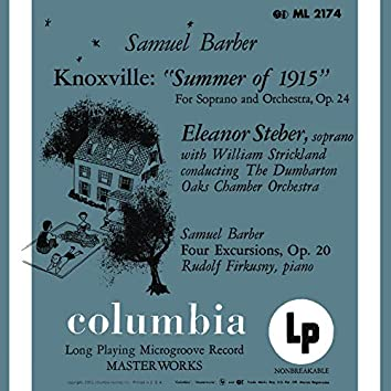 Barber: Knoxville-Summer of 1915, Op. 24 & Four Excursions, Op. 20 - Hanson: Piano Concerto in G Major, Op. 36 (Remastered)