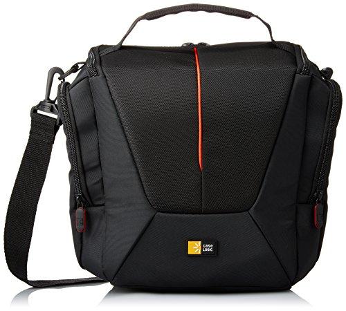 Hülle Logic DCB307K SLR Shoulder Bag Kameratasche inkl. Tragegriff/Schultergurt (für Spiegelreflex) schwarz/rot