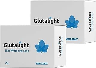 Glutalight Glutathione Skin Whitening Soap (Pack of 2)