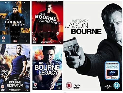Jason Bourne_S_1-5 DVD