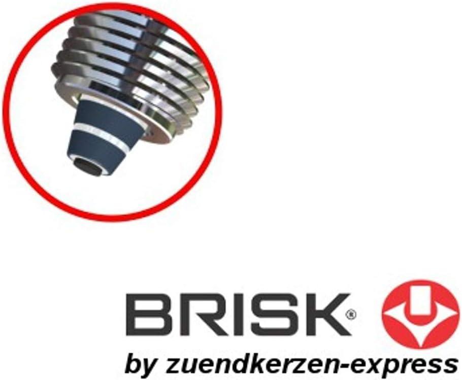 Brisk Premium Racing Dr15zc 1126 Spark Plugs 4 Pieces Auto