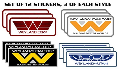 Starbase 79 Weyland Yutani Sticker Assortment