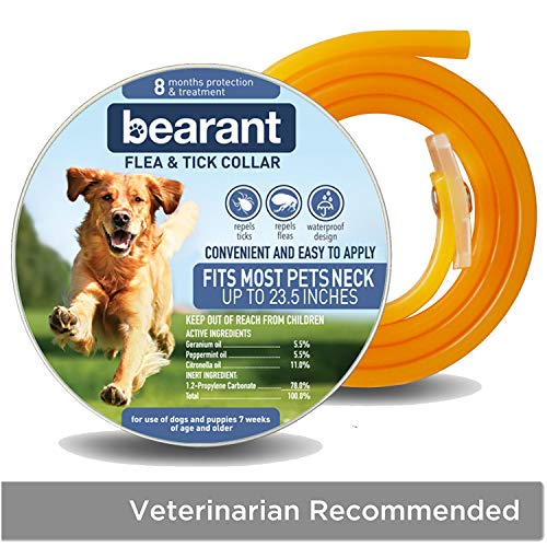 Bearant Flea and Tick Collar for Dogs