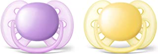Philips Avent Ultra Soft Soother, 6-18 Months, 2-Pack, SCF210/23