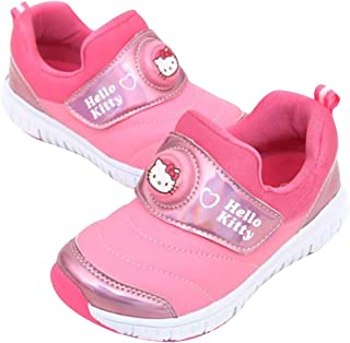 Girl's Hello Kitty Light Up Pink Sneakers Anti-Skid Shoes (Parallel Import/Generic Product)