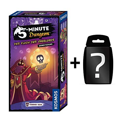 Blackfire 5-Minute Dungeon - Der Fluch des Overlords Erweiterung - Brettspiel   DEUTSCH   Set inkl. Kartenspiel