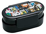 Tight lunch box 2-stage with chopsticks 670ml Star Wars comics by Skater