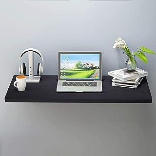 ADASP Étagères Murales Table Murale Établi Pliant Table en Bois à abattant Bureau Pliant Flottant pour Ordinateur Portable...