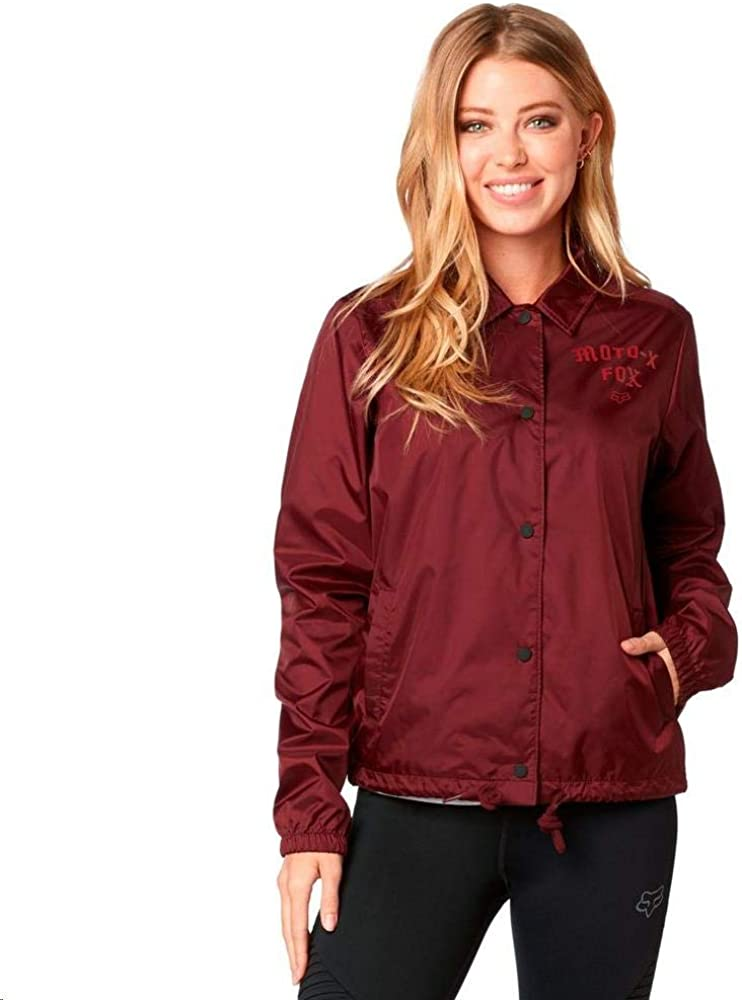 Fox Damen Pit Stop Coaches Jacket Windjacke