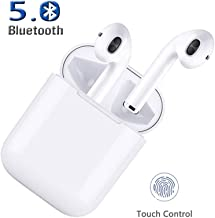 Bluetooth Headphones,Bluetooth Wireless Earbuds 3D Stereo 24H Playtime Wireless Sports Headset,IPX5 Waterproof,Pop-ups Auto Pairing for Apple Airpods Android/iPhone Samsung