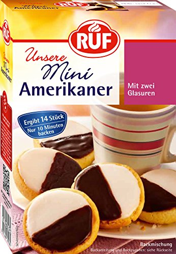RUF Mini Amerikaner Backmischung, 8er Pack (8 x 290 g Packung)