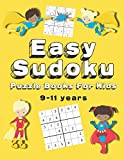 Easy Sudoku Puzzle Books For Kids: 150+ Sudoku Puzzles   Ages 9 - 11   Large Print