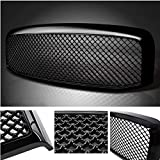 Mesh Front Hood Bumper Grill Replacement Grille Cover for 2006-2008 Dodge RAM 1500 & 2006-2009 Dodge RAM 2500/3500