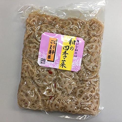 尾張 ピリ辛 ごま蓮根 1kg