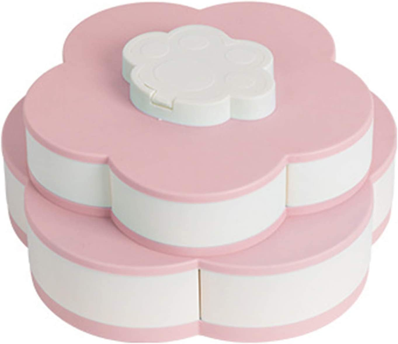 MOORRLII Biscuit Box PP Candy Shape Double-Layered Petal Gifts High quality