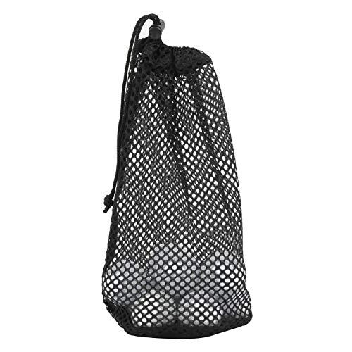 KUIDAMOS Mesh Golf Ball Bag Nylon Aufbewahrungstasche, zur Aufbewahrung von Golfbällen