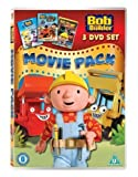 Bob the Builder - Movie Pack (Snowed Under/Built to be Wild/race to the Finish) [2012] [DVD] [Reino Unido]