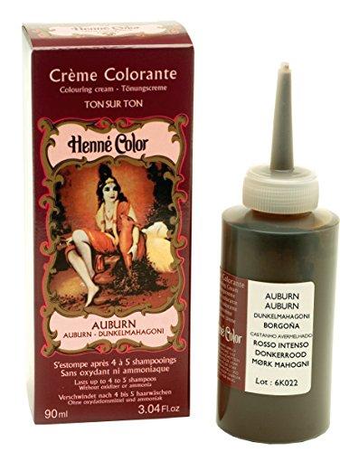 Henne Color Haarfarbe-Creme, goldbraun, 90 ml