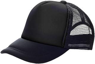 قبعة سائق الشاحنة أوبترومو كيدز بلونين شبكية منحنية، قبعة سناب باك قابلة للتعديل، 23 لونًا