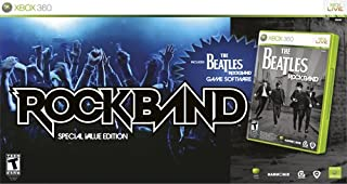 Xbox 360 The Beatles: Rock Band Special Value Edition