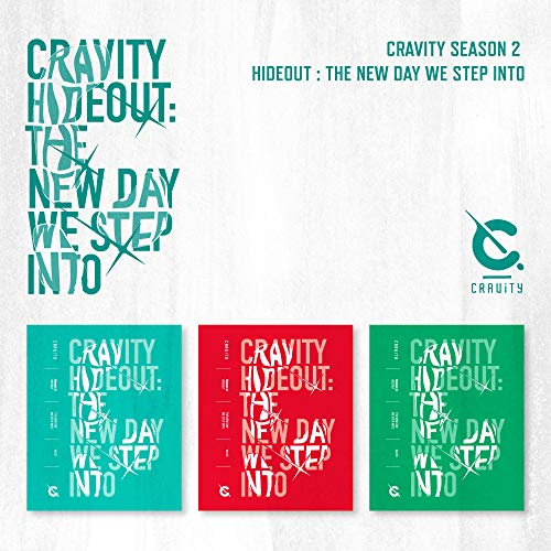 Starship Entertainment CRAVITY - CRAVITY SEASON2. [Hideout: The New Day WE Step INTO] Album+Pre-Order Benefit+Folded Poster+Extra Photocards Set (Random ver.) (Best Automator Workflows 2019)