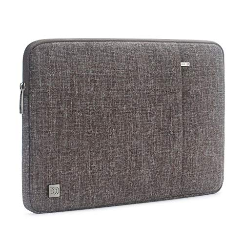 10 11 13 14 15.6 17 Inch Laptop Sleeve Case Water Resistant Notebook Tablet Protective Skin Cover Briefcase Carrying Bag (Color : Brown, Size : 10 inch)