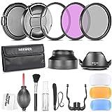 Neewer - Pack de filtros para cámaras digitales Nikon D7100 D7000 D5200 D5100 D5000 D3300 D3200...