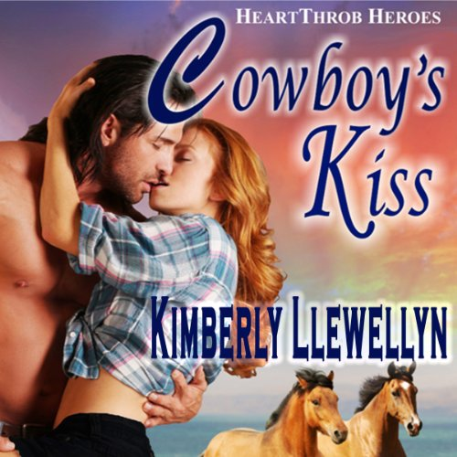 Cowboy's Kiss     Heartthrob Heroes, Book 2              By:                                                                                                                                 Kimberly Llewellyn                               Narrated by:                                                                                                                                 Nellie Barnett                      Length: 4 hrs and 51 mins     8 ratings     Overall 4.0