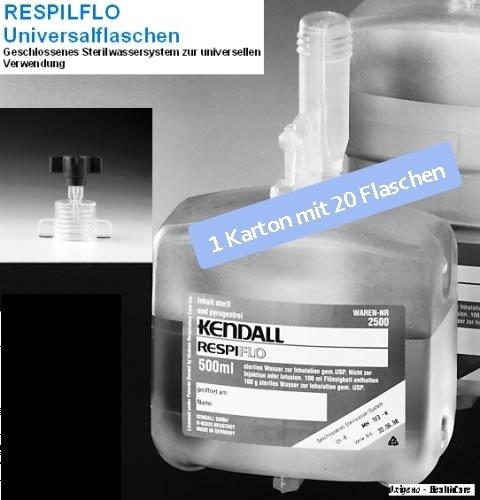 Kendall Sterilwasser Respiflo steriles Wasser 325 ml , 20 Stk. Karton