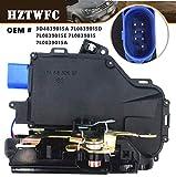 HZTWFC Trasera Izquierda 08- Puerta candado Mecanismo 3D4839015A 7L0839015D 7L0839015E 7L0839015 7L0839015A Para GOLF 5 V MK5 Seat Leon Toledo Skoda Octavia